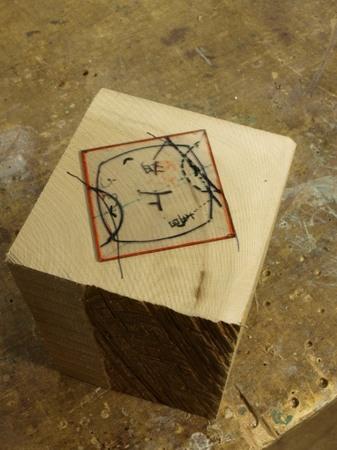 020、木の一輪挿し「凛」の木取り.jpg